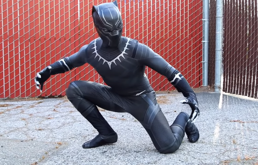 Best way to dress up like black panther